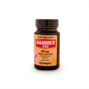 Hammer Hemp CBD softgels 25mg 30ct